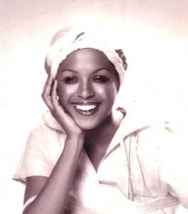 fashion model Catana, 1975