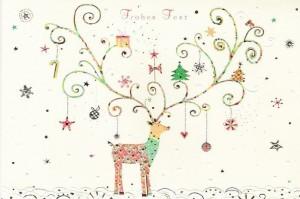Decorated Christmas Deer