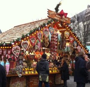 Lebkuchen stand in Bonn